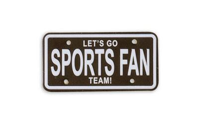 Sports Fan Sports Plate