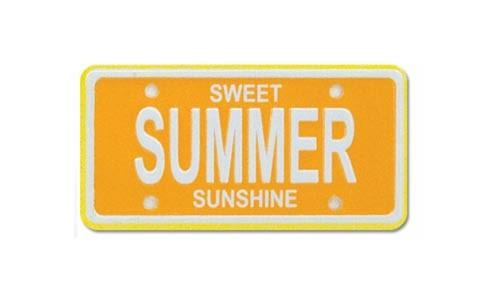 Summer Scrap Plate