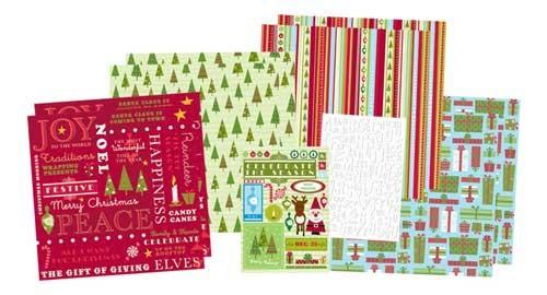 Christmas Scrapbook Kit