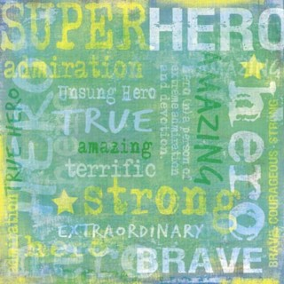Hero Collage Paper