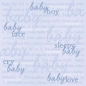 Baby Boy Definitions Paper