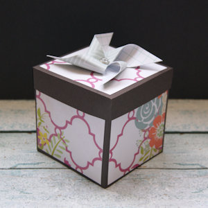 Explosion Box Scrapbook #37