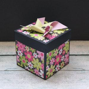 Explosion Box Scrapbook #38
