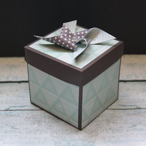 Explosion Box Scrapbook #43
