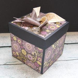 Explosion Box Scrapbook #40