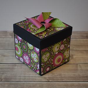 Explosion Box Scrapbook #48