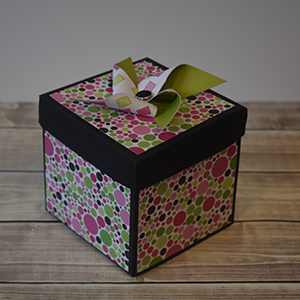 Explosion Box Scrapbook #52