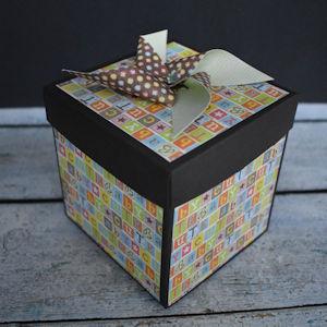 Explosion Box Scrapbook #60