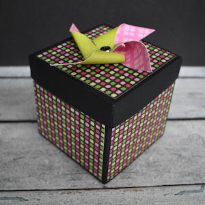 Explosion Box Scrapbook #67