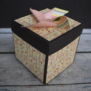 Explosion Box Scrapbook #69