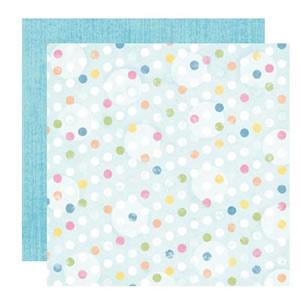 Dry Brushed Aqua Paper