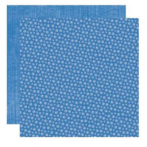 Dry Brushed Periwinkle Paper