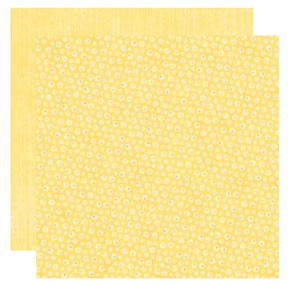 Dry Brushed Yellow Paper