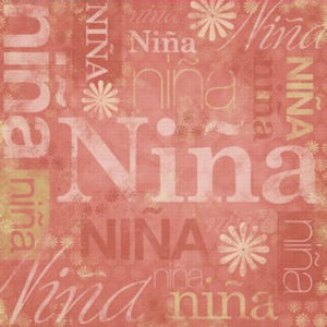 Baby Girl Spanish Paper