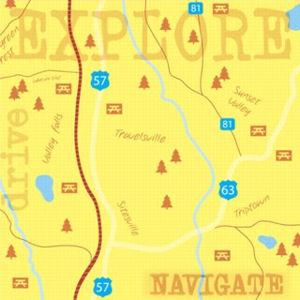 Explore Map Paper