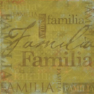 Family Spanish Paper