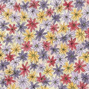 Doodle Flowers Paper