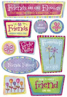 Friendship Cardstock Stickers