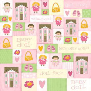 Girl Playtime Paper