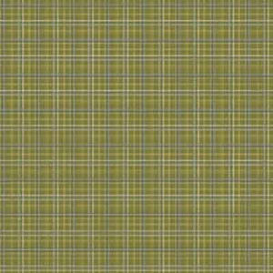Green Plaid Paper