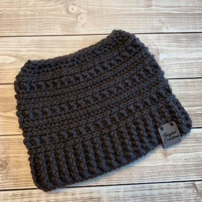 Messy Bun Hat #2