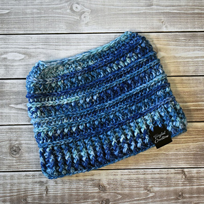 Messy Bun Hat #3