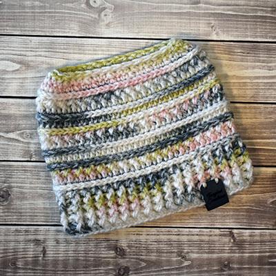Messy Bun Hat #4