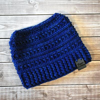 Messy Bun Hat #5