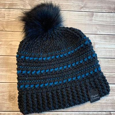 Pom Pom Hat #1