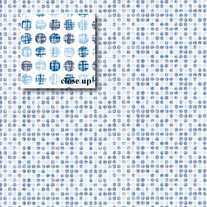 Blue Scratch Dots Paper