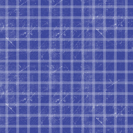 Blue Plaid Paper